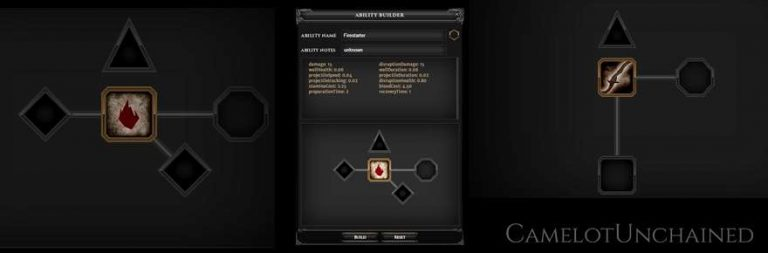 Camelot Unchained teases ability crafting system