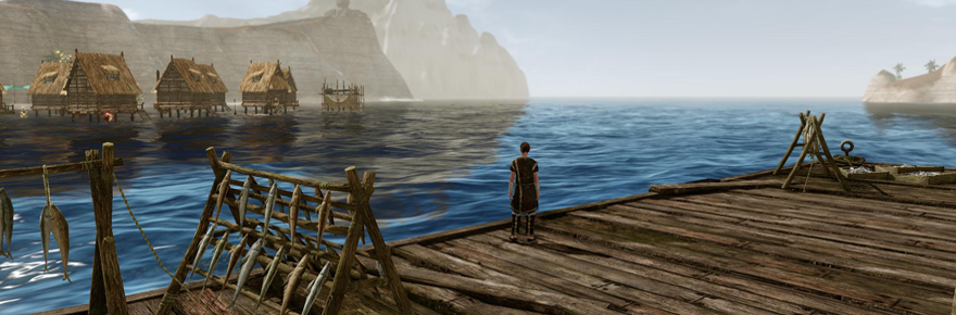 ArcheAge Austere dock