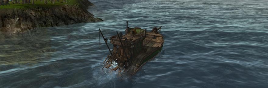 ArcheAge fishing boat