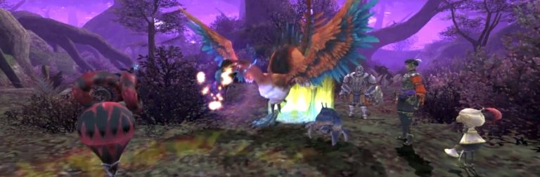 Final Fantasy XI's newest login campaign offers players autumnal decoration