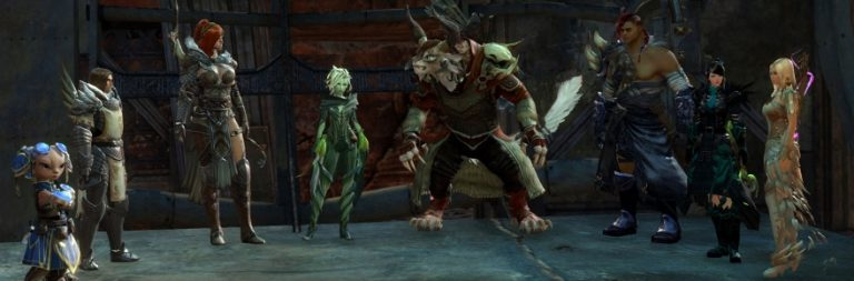 Guild Wars 2 allows you to preview locked dyes