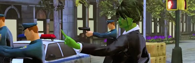 She-Hulk is judge, jury, and executioner in Marvel Heroes