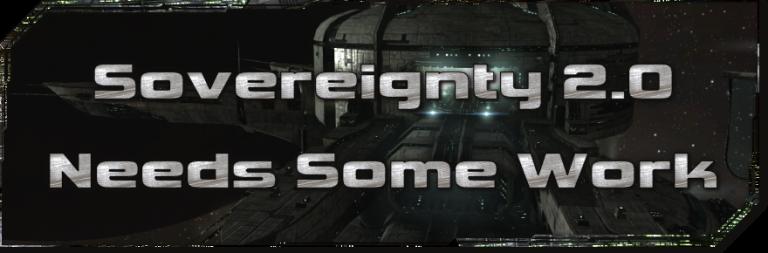 EVE Evolved: Sovereignty 2.0 Needs Some Work