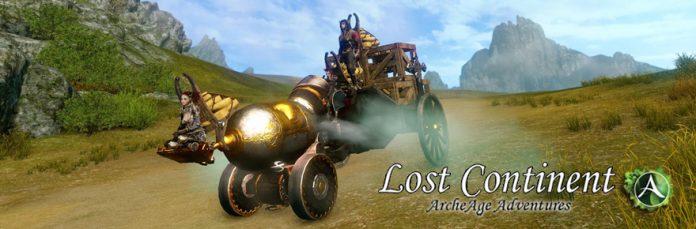 Lost Continent - ArcheAge hero tractor