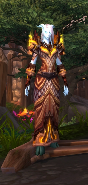 Ain't nothing half as nice as getting draenei, by the by.