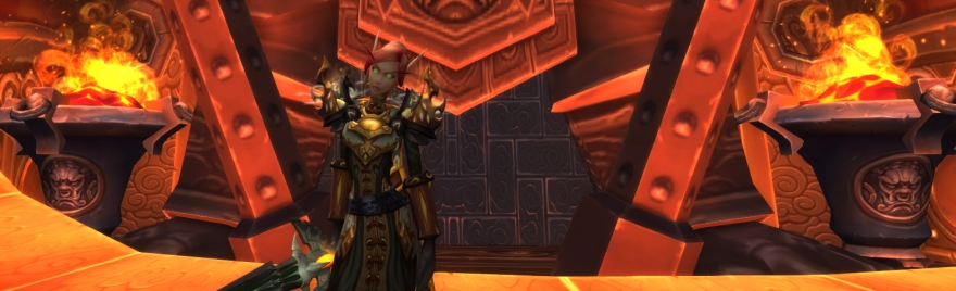 There's a lot to be said about how Burning Crusade redefined the baseline, but that's for another week.