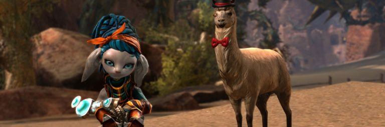 Earn this Guild Wars 2 llama by PvPing