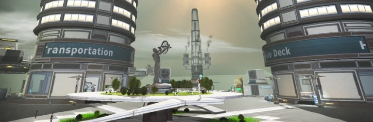 Take in a full hour of Anarchy Online's new beginner experience