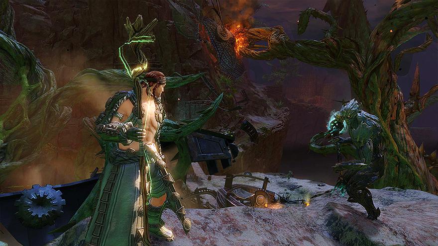 ranger druid fight
