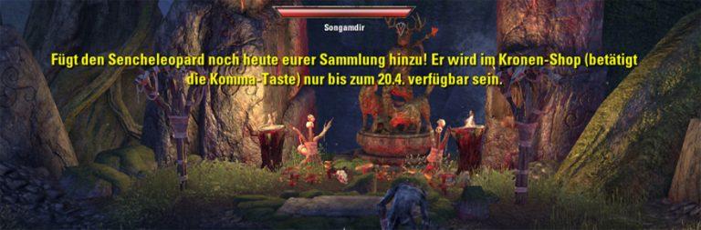 Elder Scrolls Online advertises cash shop item in game
