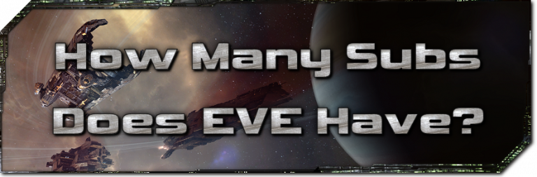 EVE Evolved: How many subscriptions does EVE have?