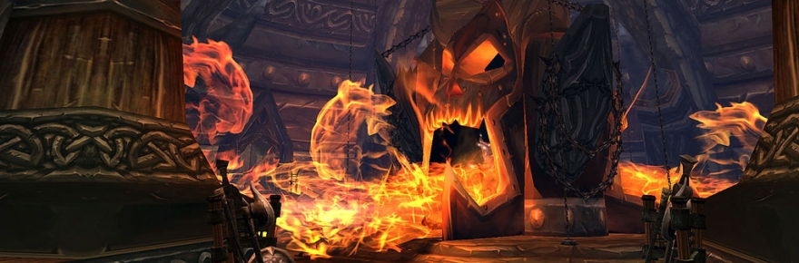 This is going to probably be one of my favorite visuals of a WoW dungeon until the end of time, honestly. But I don't need to go back.