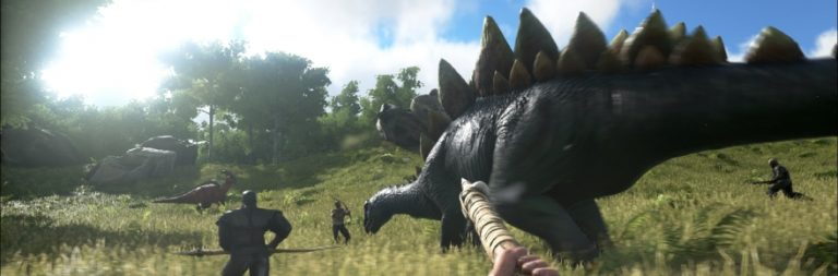 ARK: Survival Evolved strands you on an island of dinosaurs