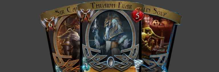 Land of Britain creates card game to fund the MMO