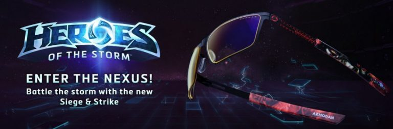 Win a pair of Gunnar Heroes of the Storm glasses from Massively OP