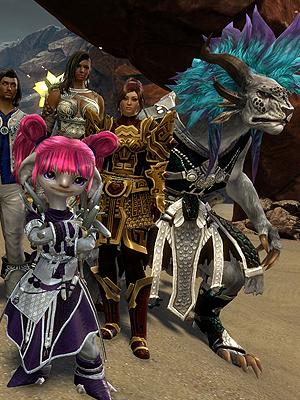 Guild Chat, happy guild