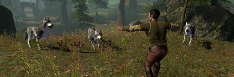 Shroud of the Avatar's update talks taming, player towns, and more