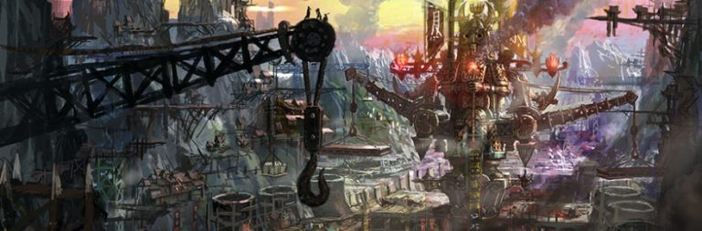 Blade & Soul offers an overview of the world at large