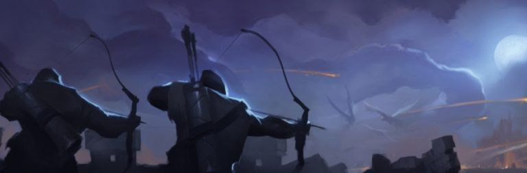 Here's an early look at Crowfall's keeps