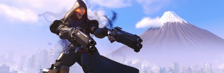 See Overwatch's Reaper in all of his dark, billowing action