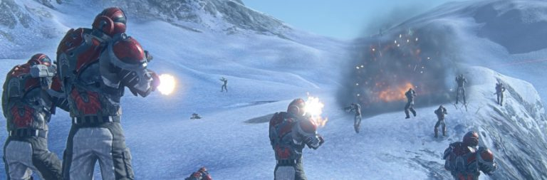 Planetside 2 is celebrating Christmas with an array of high-powered festive weapons