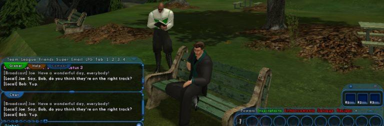 City of Heroes is returning… as a chat client