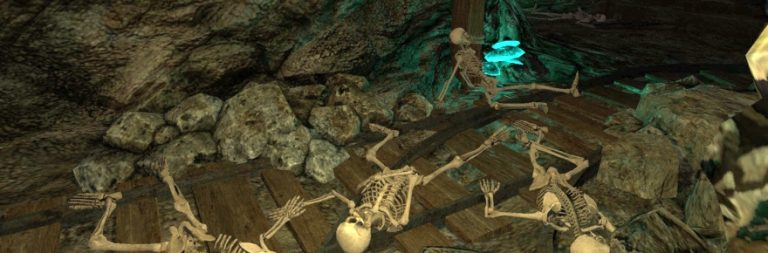 Shroud of the Avatar on mines and minigames