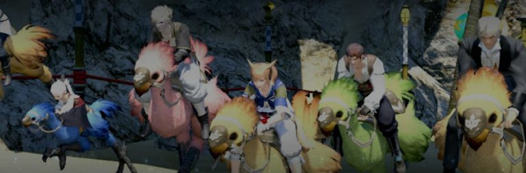 Tweet your way to victory in Final Fantasy XIV's Twitter chocobo race