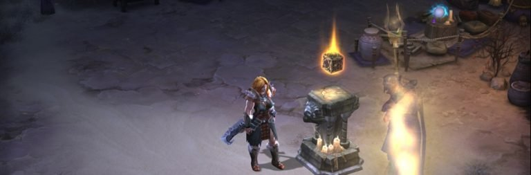 Diablo III explains the benefits offered by Kanai's Cube
