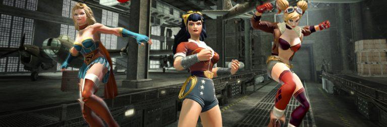 DC Universe Online's Bombshells, Black Lanterns, and bases