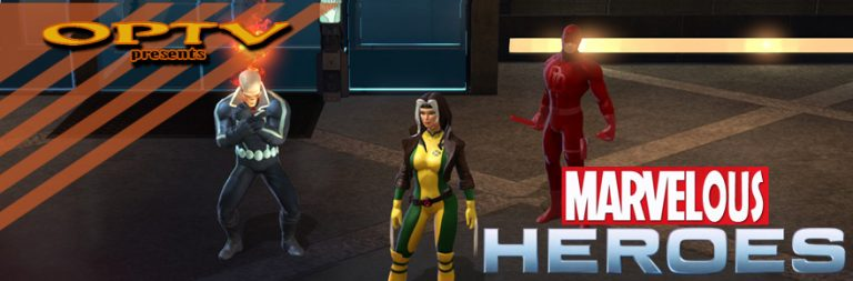 The Stream Team: Returning to Rogue in Marvel Heroes