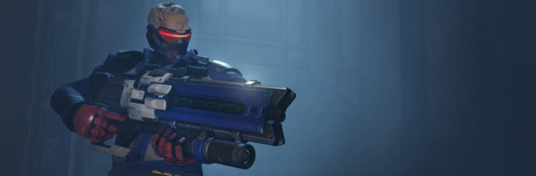 Overwatch unveils the mysterious Soldier: 76