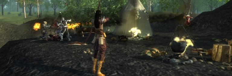 Pathfinder Online perseveres with housing and ninjas