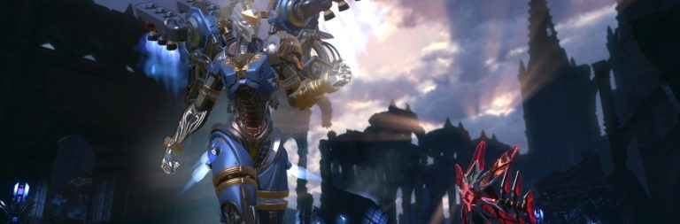 Skyforge's first major update, Crucible of the Gods, lands on August 11th