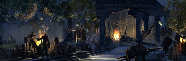 Elder Scrolls Online's Imperial City is kinda like Oblivion's