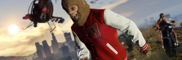 GTA Online gets teen wolf, freemode events, and bug fixes