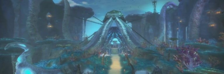 Catch a flythrough of the two new regions in Aion's next update