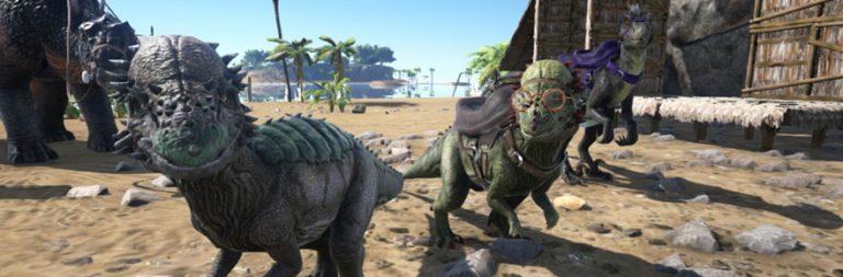 ARK video spotlights the headbutting Pachycephalosaurus