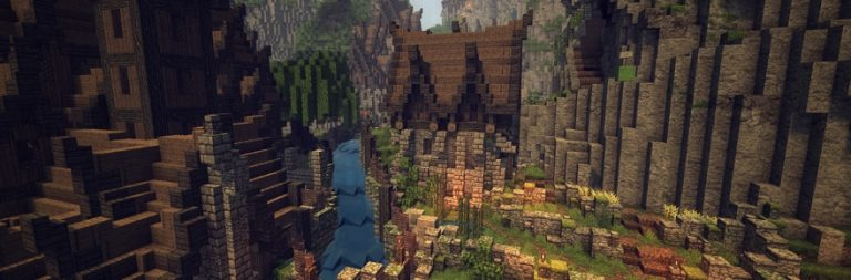 Mythros builds an MMO out of Minecraft