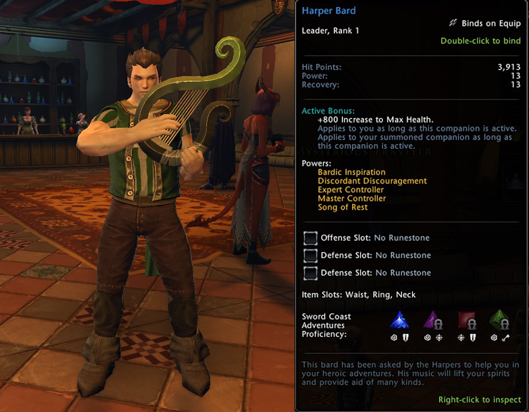 Team up with Neverwinter's Harper Bard on the Xbox One [All
