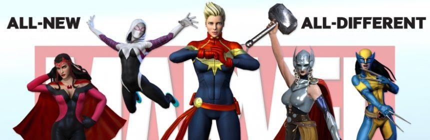 captain marvel team
