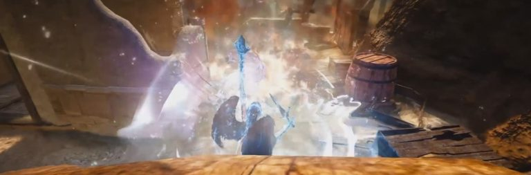 Take a look at the gameplay of Black Desert's Witch