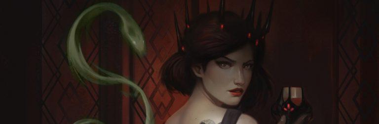 Crowfall details Zaleena, Daughter of Snakes