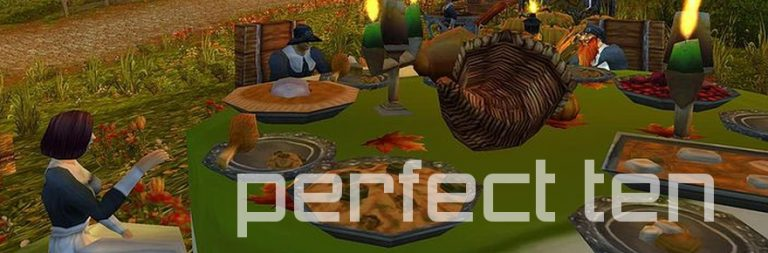 Perfect Ten: How MMOs teach us to be thankful