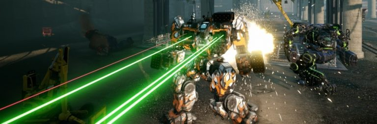 MechWarrior Online stomps onto Steam