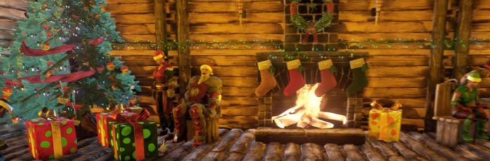 Ark Survival Evolved Christmas Event.Raptor Claus Pays A Special Visit To Ark Survival Evolved