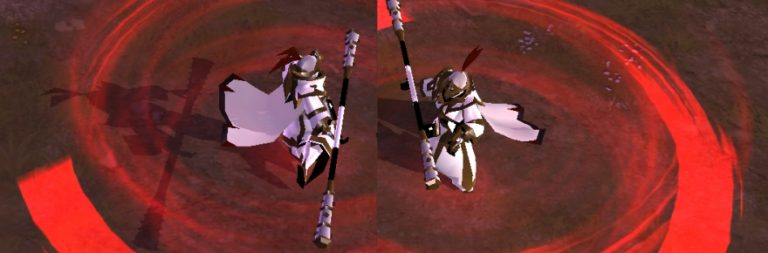 Albion Online shows off a tanking build with the Iron-Clad Staff