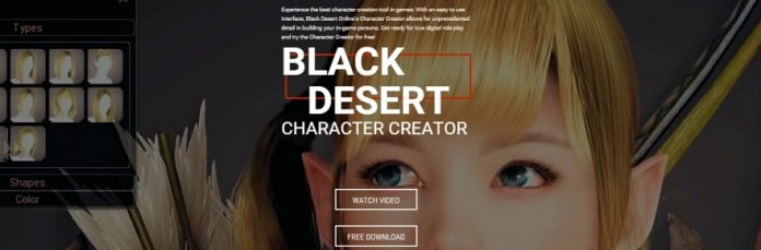 Here's what you can do with the Black Desert character creator