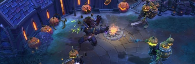Heroes of the Storm is adding Genn Greymane to its lineup today