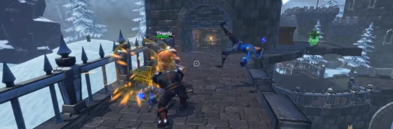 Overpower melds fantasy arena matches with RPG progression